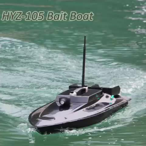 Fiberglass carp boat hyz 105 rc fishing bait boat buy rc for Rc boat fishing