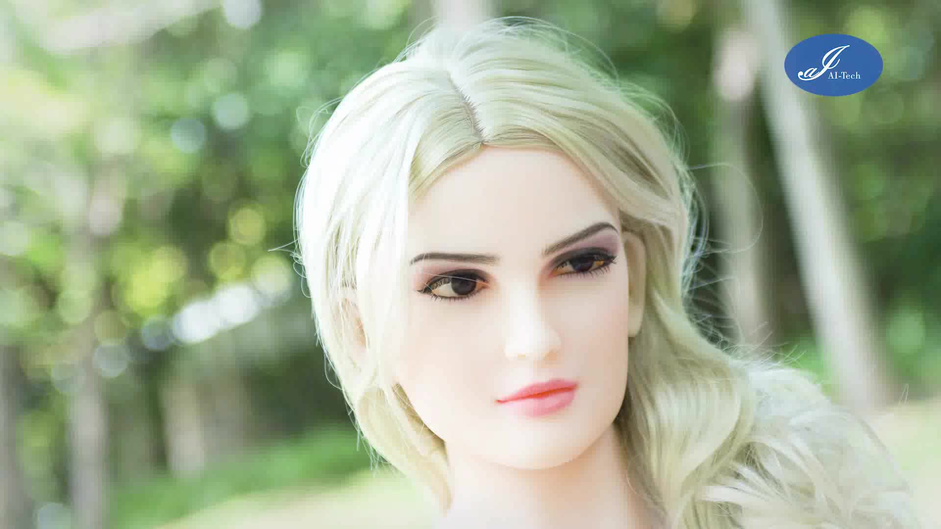 2018 New 165cm Realistic Full Size Free Talking Humanoid Sex Robot ---Your  best 4f047387e3