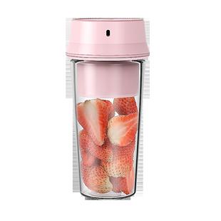 安家乐家用水果小型便携式杯果汁机