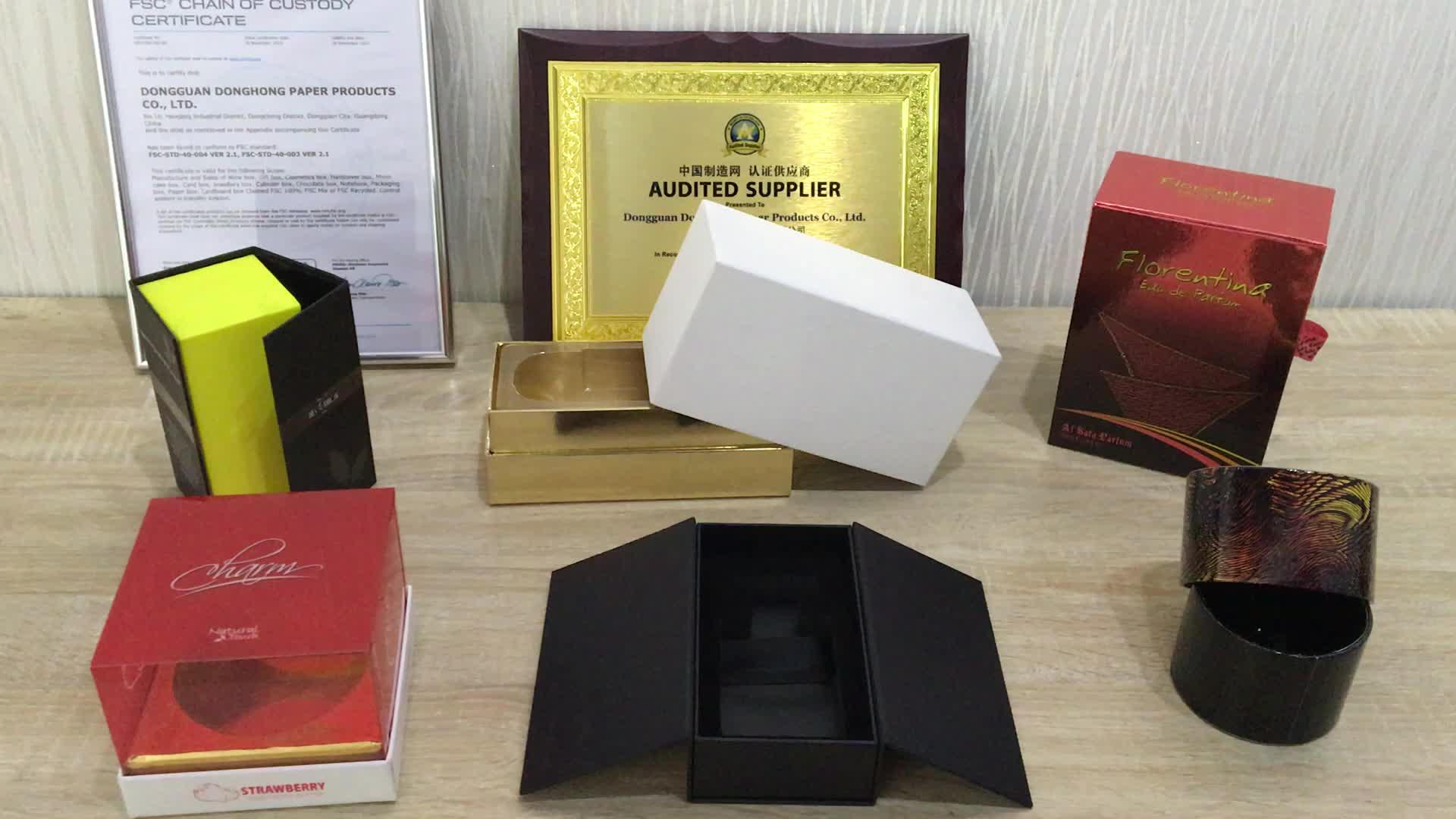 Luxus Kleine Rosa Individuell Bedruckte Ring Papierrohr Geschenk Verpackung Samt Schaum Einsätze Schmuck Runde Box Mit Band