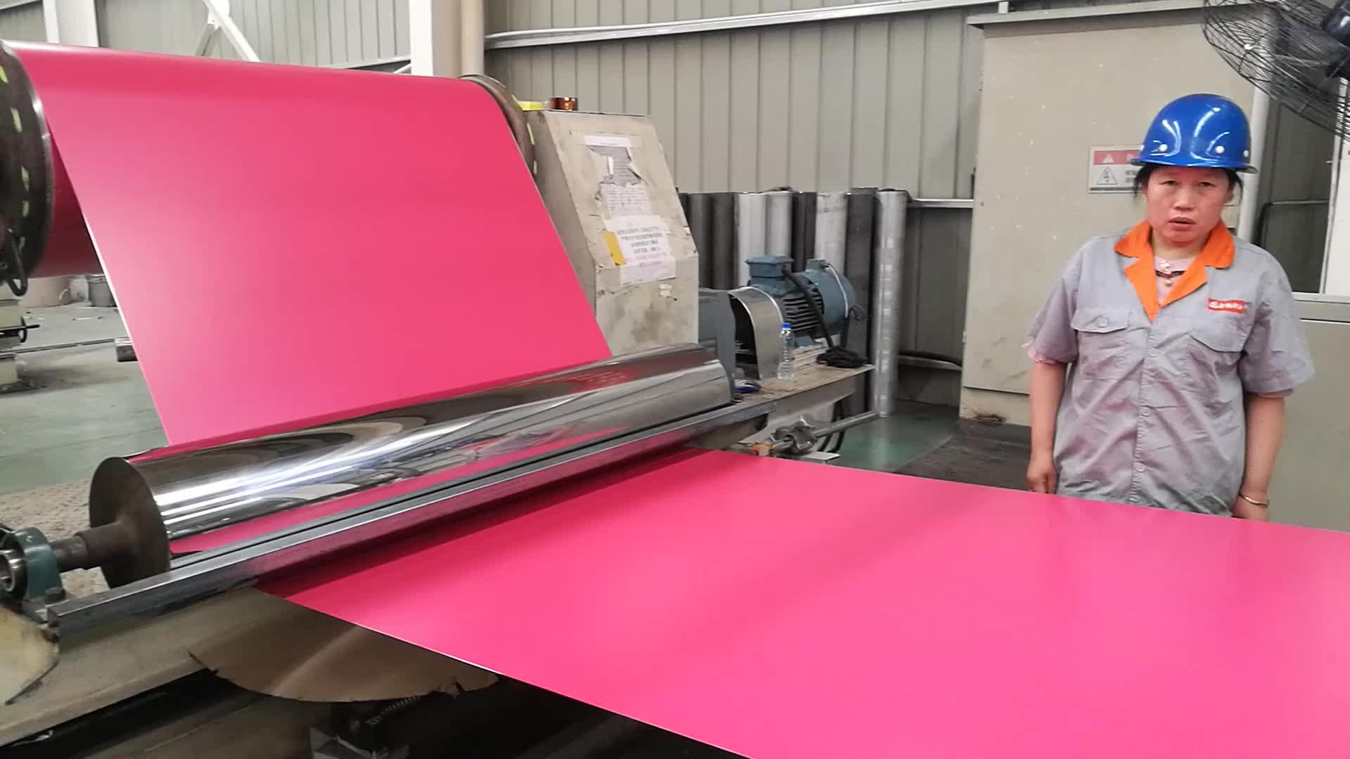 jinhu marque couleur enduit papier d 39 aluminium industriel bobine rouleau prix pour goutti re. Black Bedroom Furniture Sets. Home Design Ideas