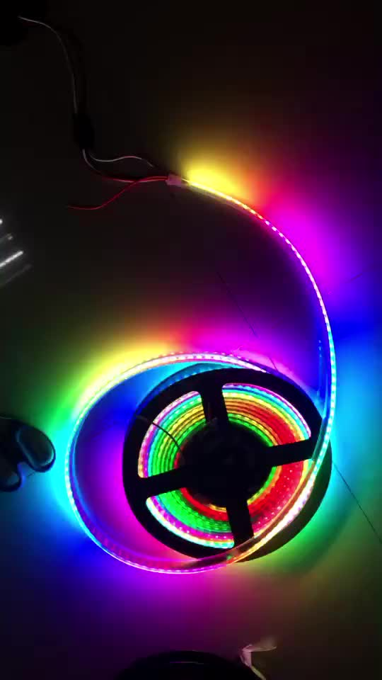 Wireless Led Strip RGB Lights Kit SMD 5050 16.4Ft(5M) 300LEDs  for Home Lighting with Strip Light