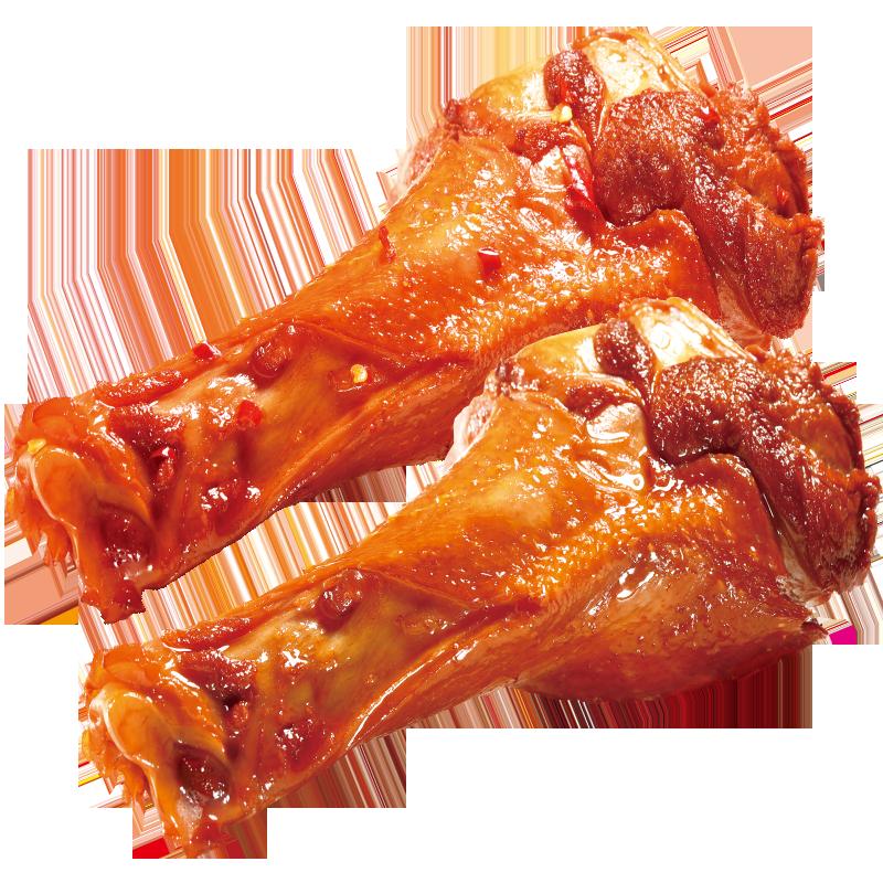 鲜满多麻辣鸭腿50g*10根卤味盐焗鸭肉翅根小零食吃货即食熟食肉食