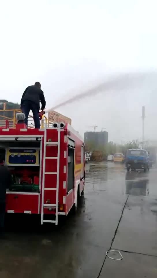 Best-selling 3ton fire fighting truck fire truck for sale