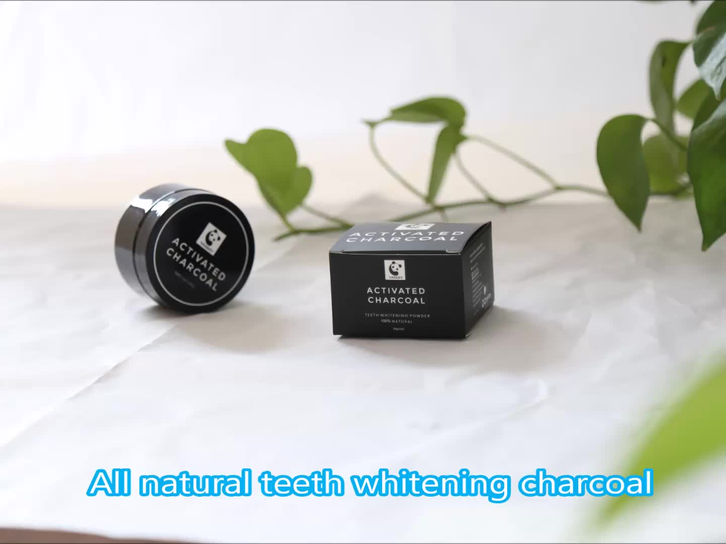 FDA Certificated Oil pulling and Bamboo Toothbrush Coconut Charcoal Teeth Whitening Powder Price