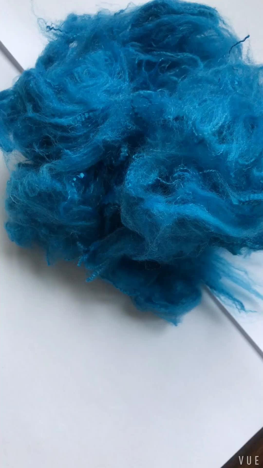High Quality Wholesale Polyester Staple Fiber Buy Black