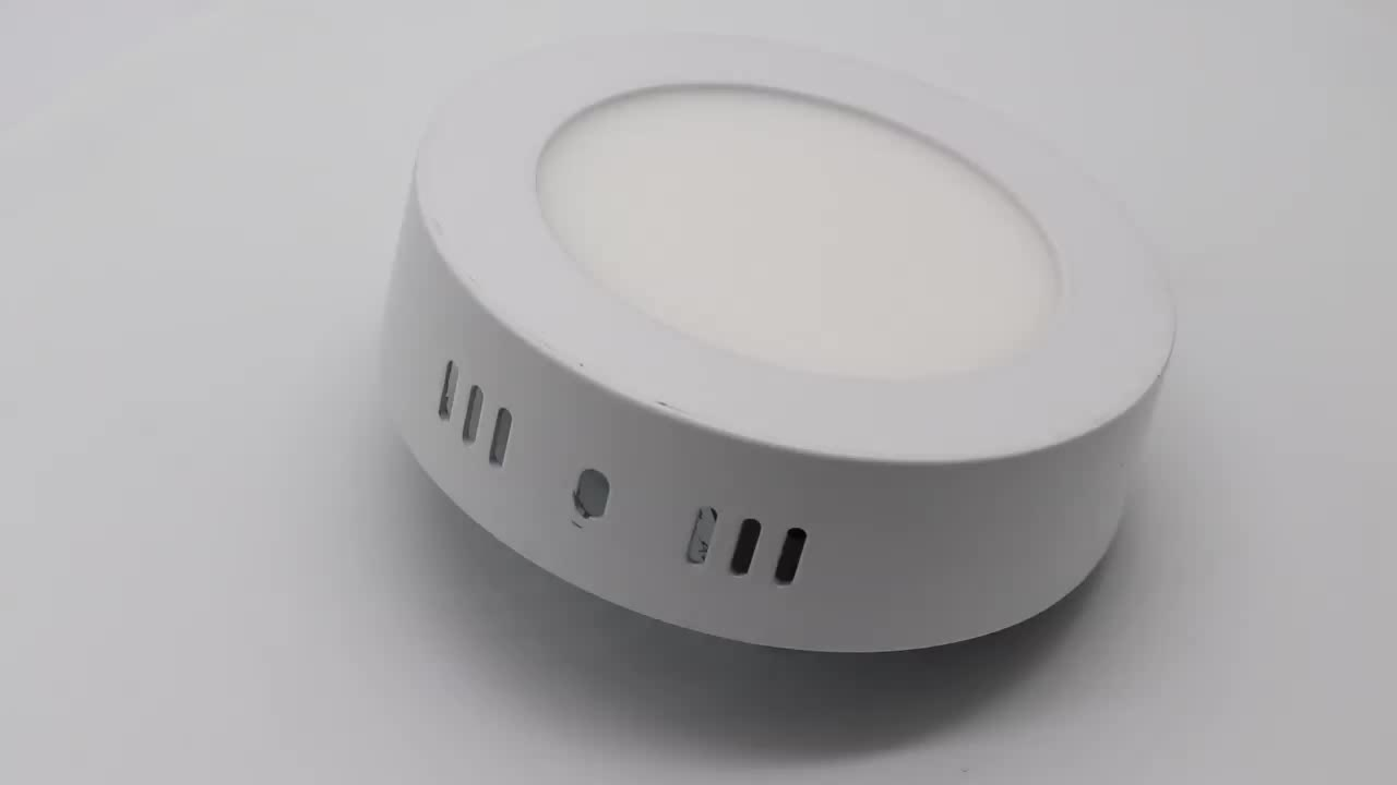China Factory direct Lighting Lamp 12w round led panel light with OEM ODM