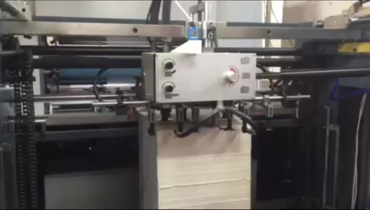 Automatic vertical bopp film laminating machine for waterbased and thermal lamination