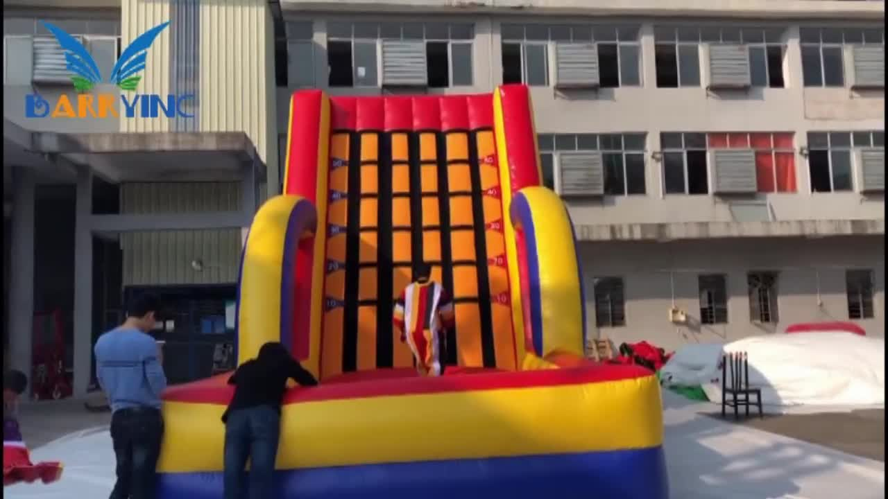 Barry inflatable wall for sale/inflatable sticky wall suits for adults and kids,inflatable game factory china cheap price
