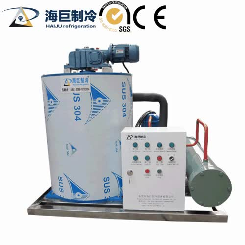 New condition 8T water cooling flake ice machine ice maker