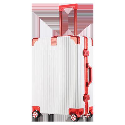 璐璐凯帝铝框拉杆箱万向轮24寸旅行箱男26寸学生密码箱行李箱女