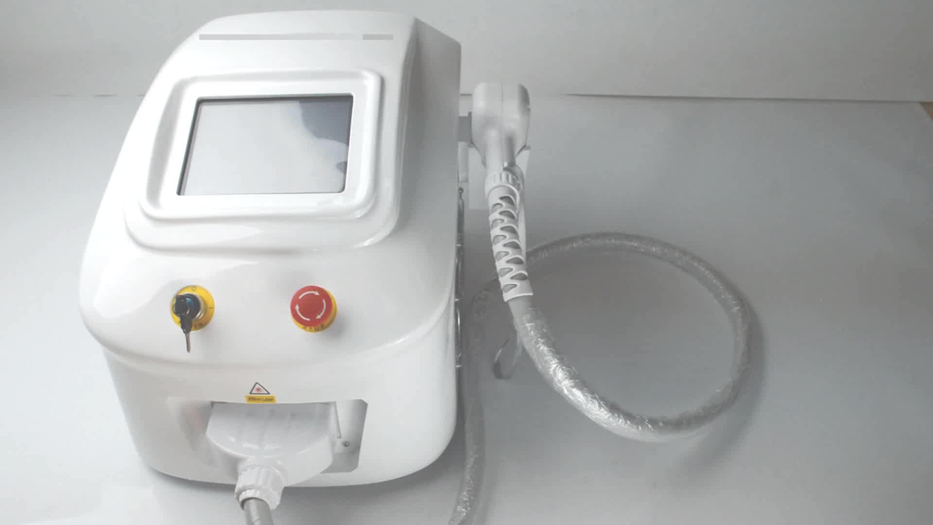 2018 New arrival portable 10 Bars 808nm diode laser hair removal equipment