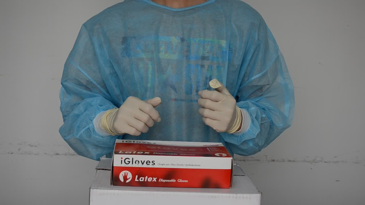 Disposable rubber examination gloves malaysia manufacturer latex gloves
