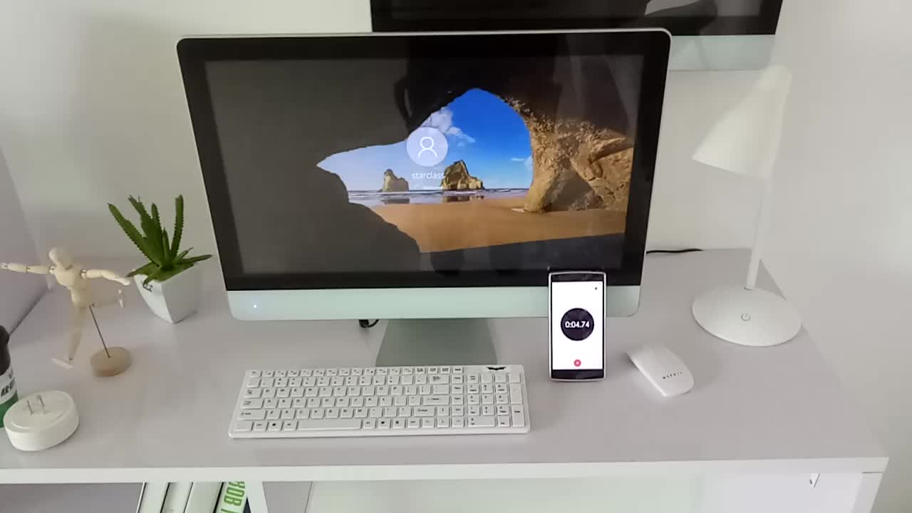 27 inch desktop computer with 1920*1080 HD monitor