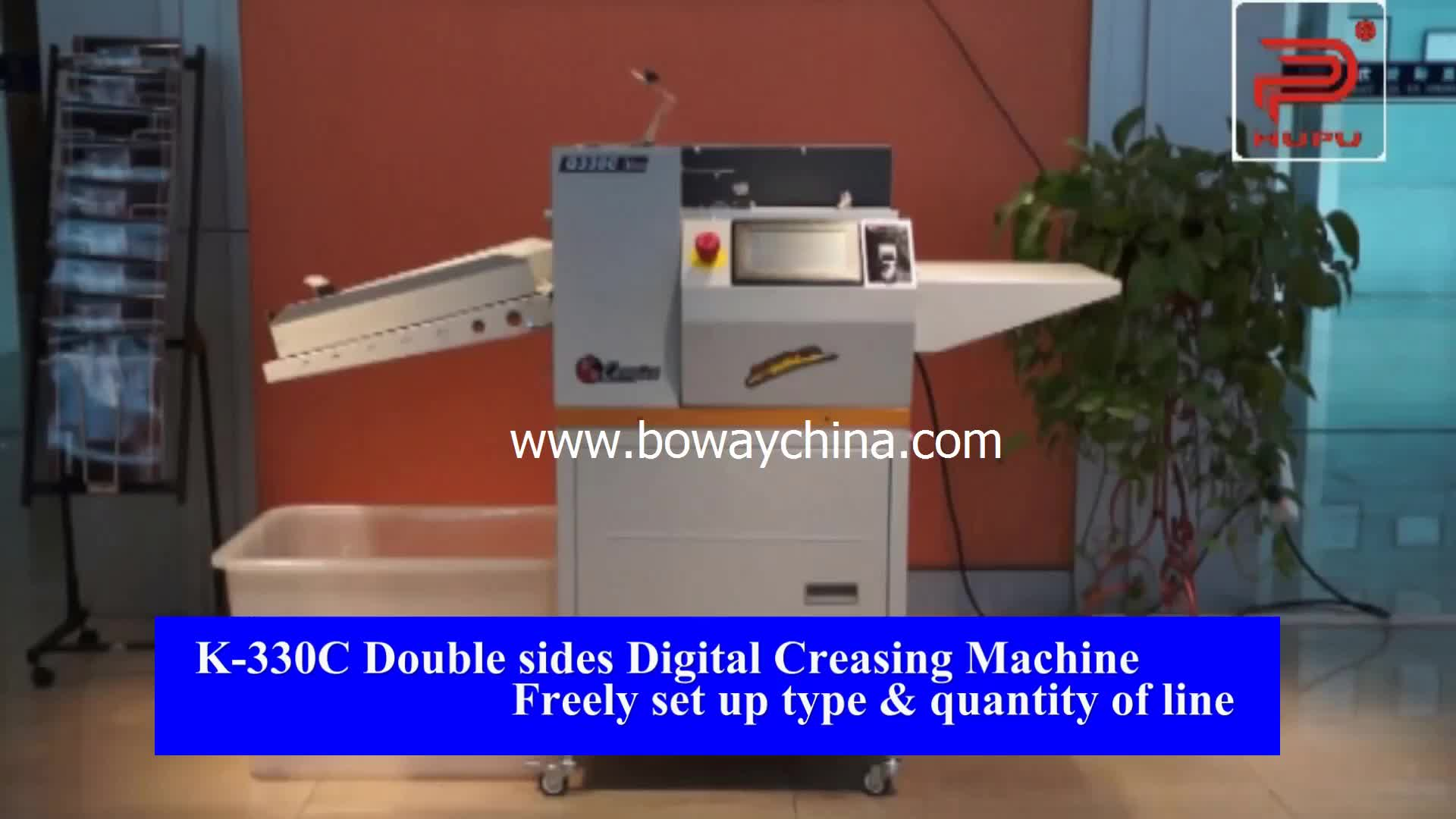 Electric manual feed paper 2 Model Dot line Slitting Creasing machine