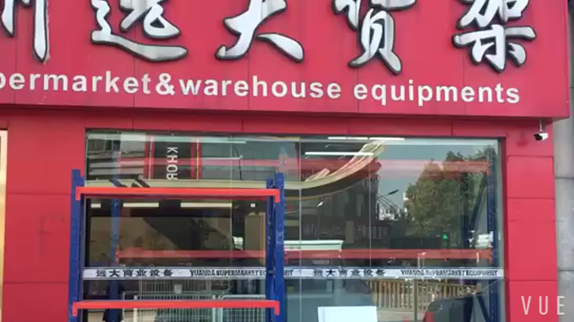Warehouse storage racking system shelves for market metal rack