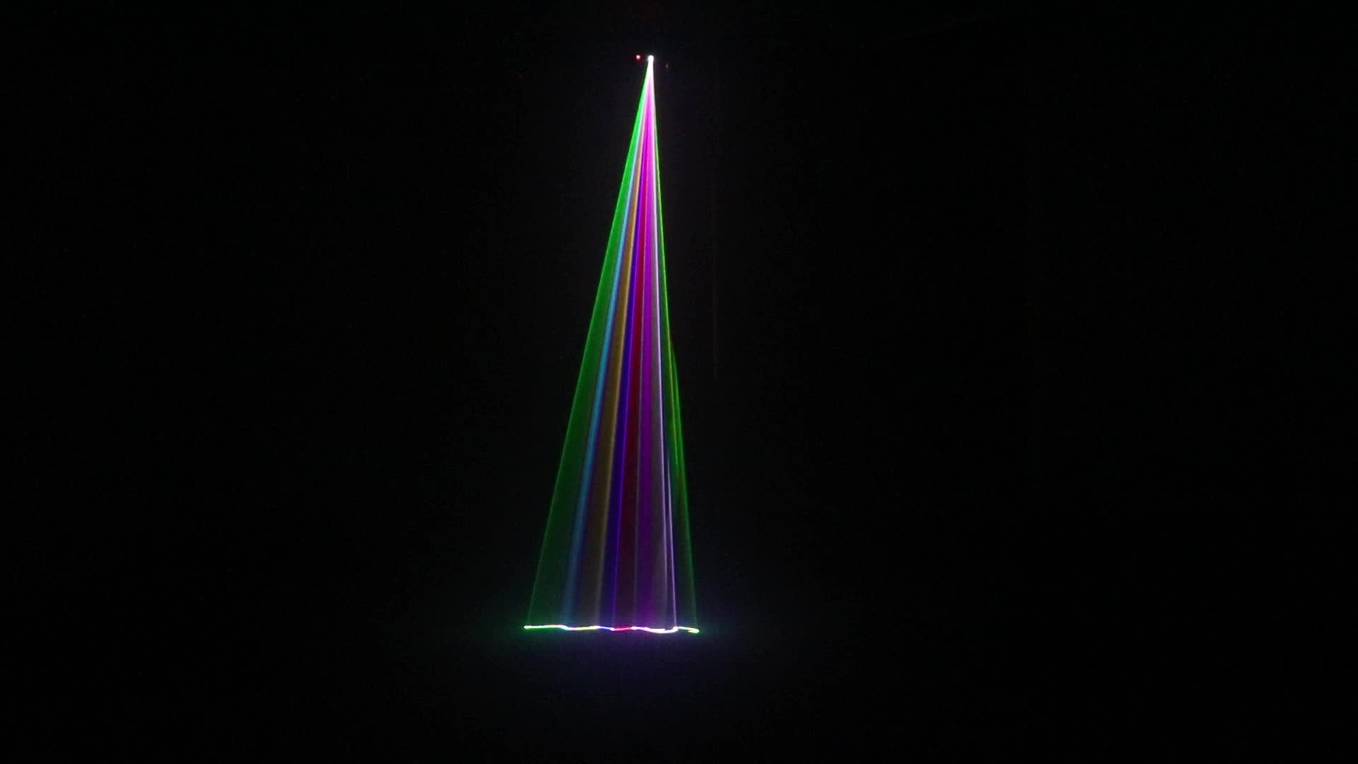 RGB 400MW DMX Laser Lights Disco Verlichting Sound Sensitive