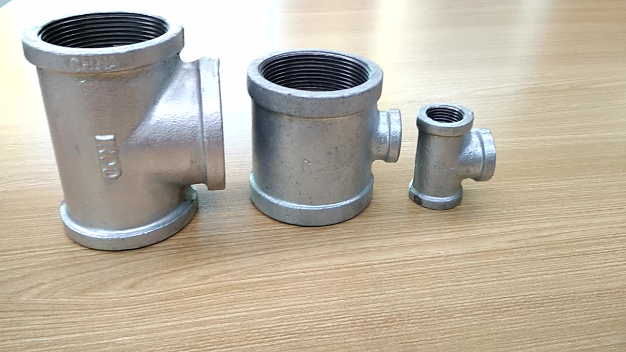 Hs code gi pipe fittings for malleable iron tee buy