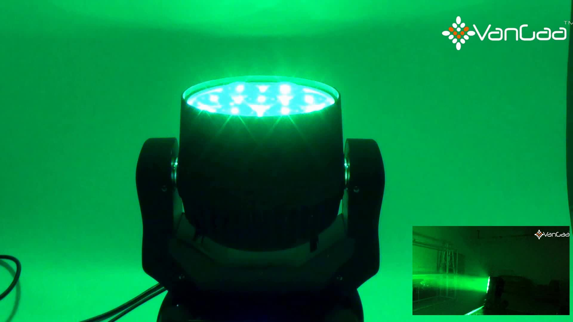7pcs 40W 4in1 LED Moving Head Beam Wash Zoom Light