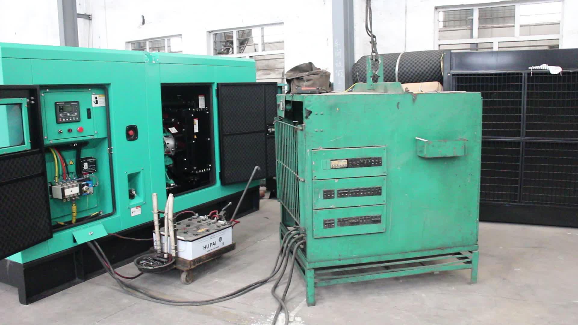 Hot sale 80kw 100KVA diesel generator for Cummins engine 6BT5.9-G2