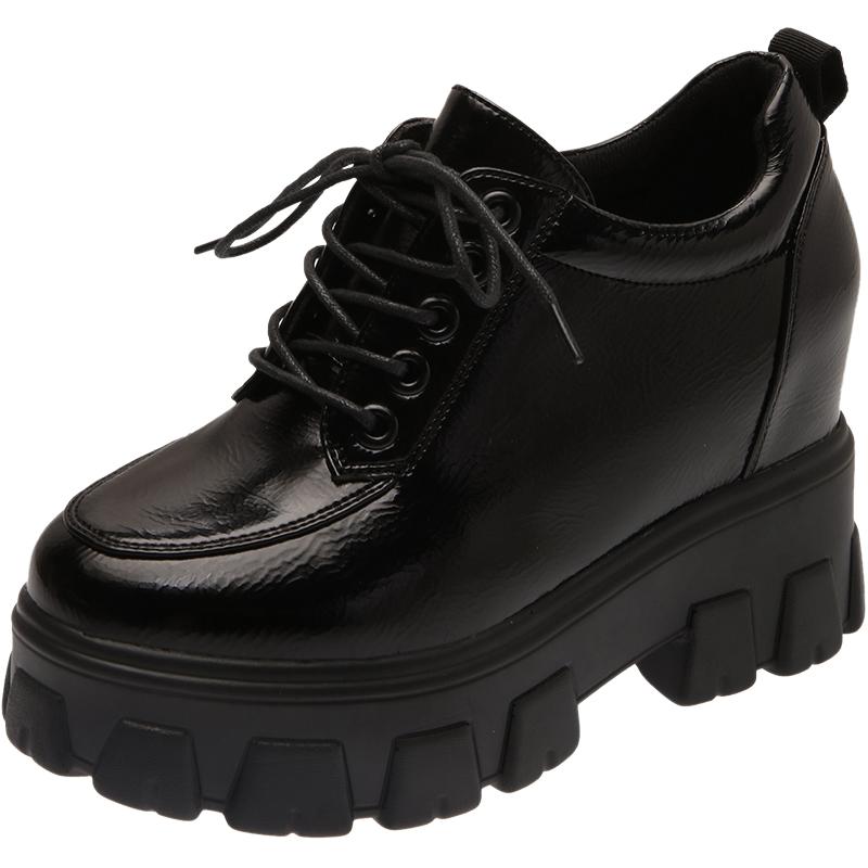 英伦风2021春季新款百搭松糕小皮鞋能入手吗