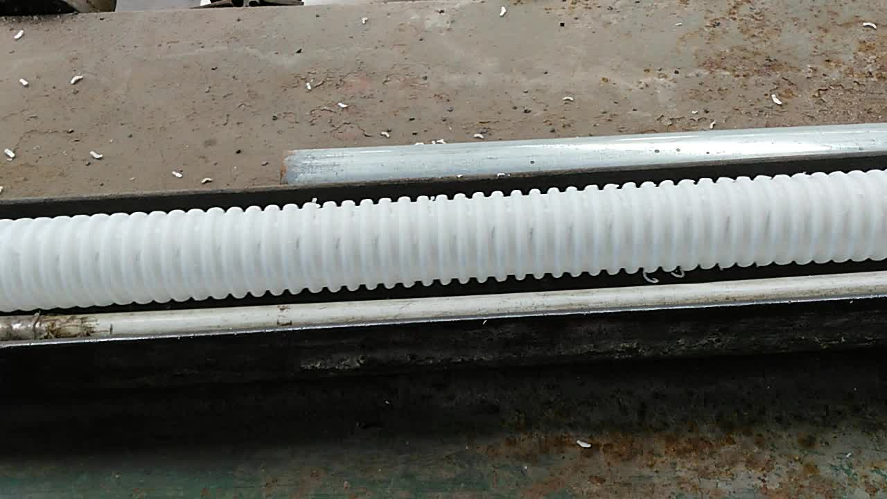Plastic drainage corrugated pipe white buy plastic for Buy plastic pipe