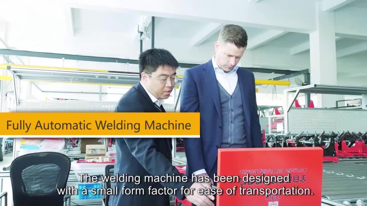 BADA QZD630 Automatic HDPE butt fusion welding machine