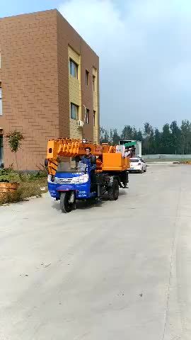 Wolwa brand Hoisting crane 3 ton Tricycle for sale GNQY-ZS3
