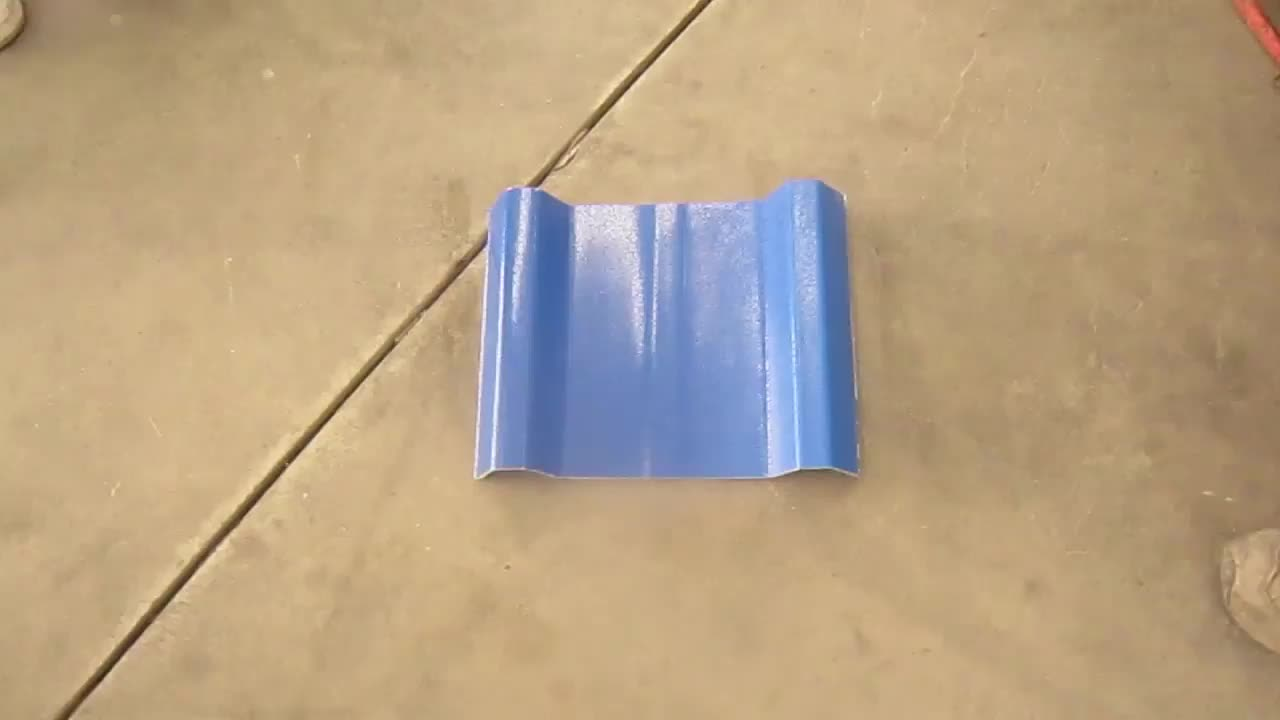 Low Price Color Corrugated Pvc Roof Sheet For Philippines