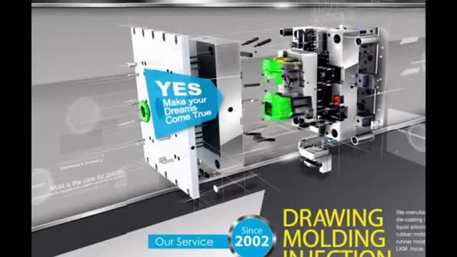 Plastic injection moulding 3D best mold consumer electronic inject tooling manufacturing