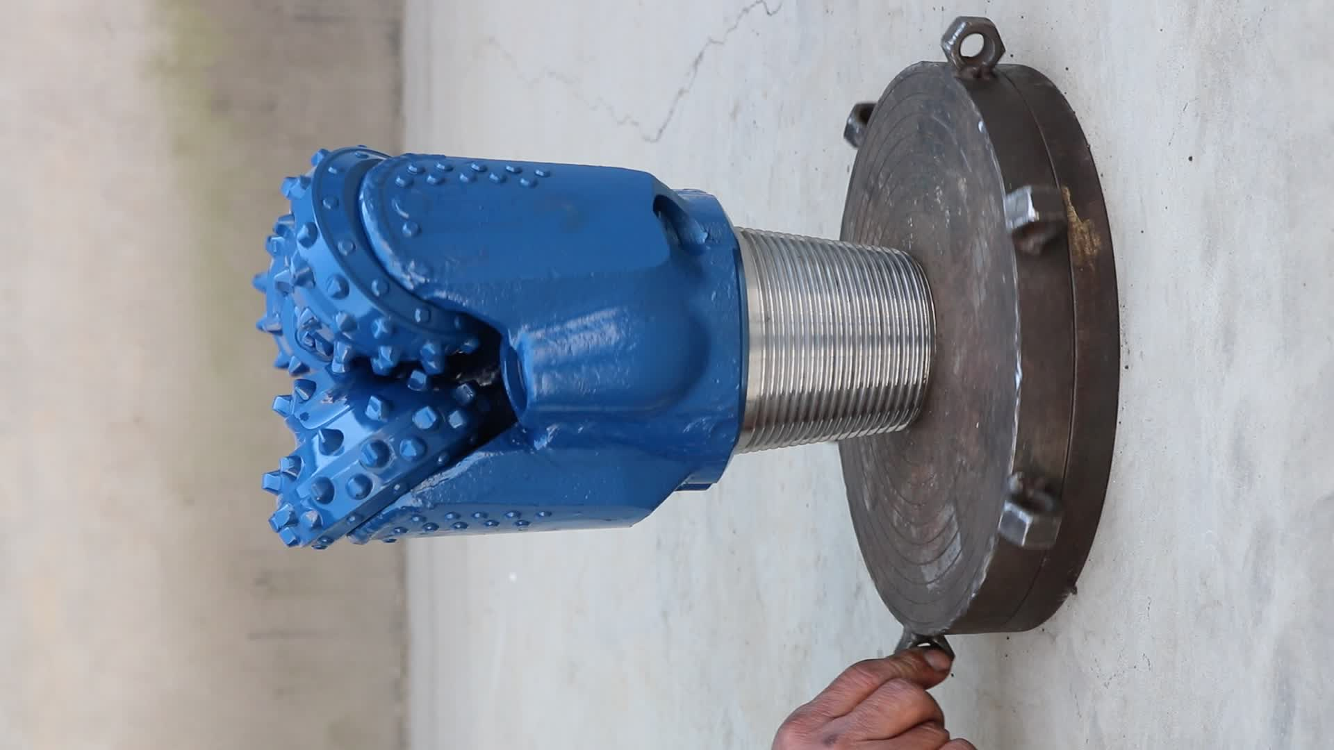 """API&ISO9001 sealed bearing 7 1/2"""" TCI tricone water well drill rock bit"""