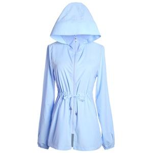 2021新款夏季韩版中长款外套防晒衣