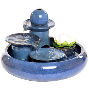 水乡故事客厅陶瓷家居工艺品加湿器