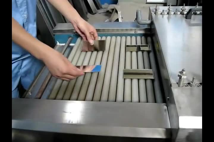 SY-500 Horizontal Glass Washing Cleaning Machine for Small Size Glass