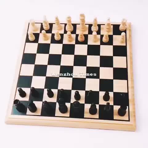 2020 inteligente de madera de ajedrez más populares de madera ajedrez tablero de cerebro de formación de tablero de madera de ajedrez W11A051