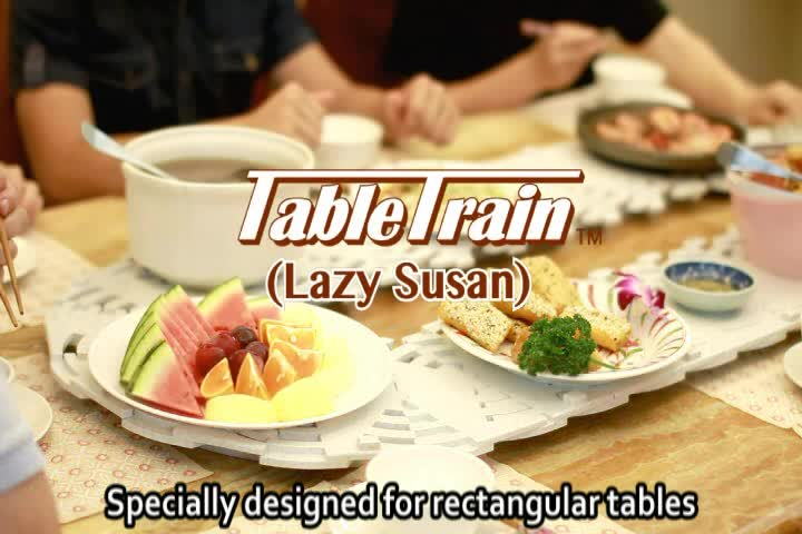 easy assemble & disassemble lazy susan turntable