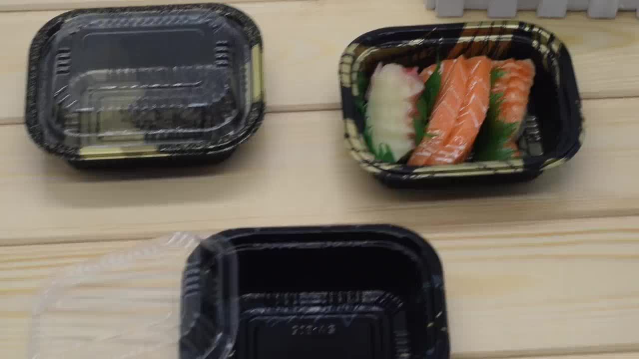 SM-807SHG kunststoff obst container branchen mini tray verpackung box sushi