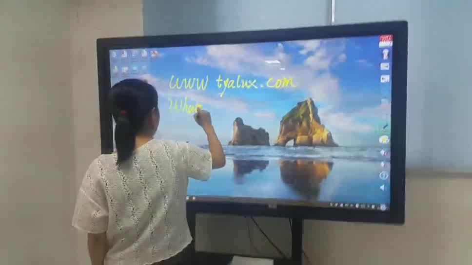 65 Inch Smart Cheap Interactive Whiteboard With LED Backlit