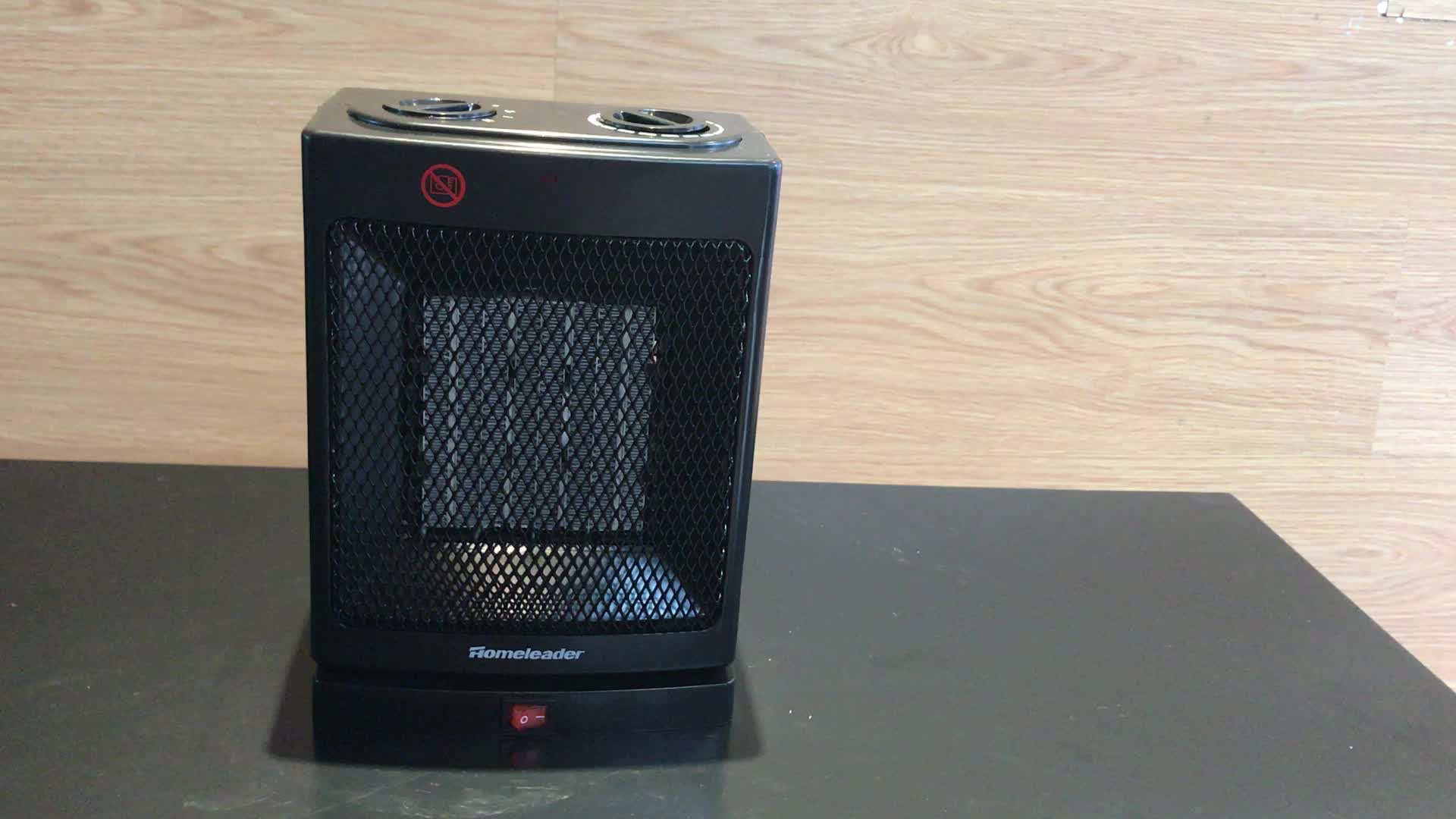 Hot Sale Oscillating Base Electric Table Fan Heater Buy