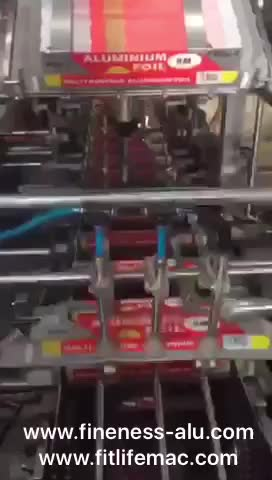 2018 New Automatic Aluminum Foil Boxing Packing Machine for cosmetic/ medical/ commodity
