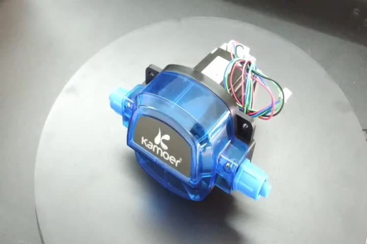 Kamoer KHL Stepper Motor Automatic Water Pump 12V Mini Dosing Medical Peristaltic Pump For Chemical Experiment