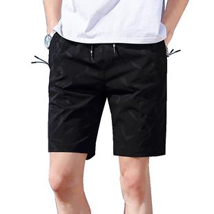 五分裤男宽松运动休闲夏季潮流短裤