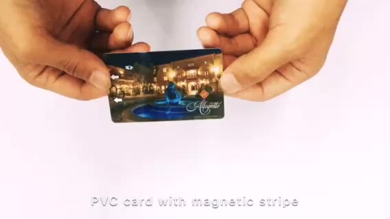 Blank pvc inkjet SLE4428 contact ic smart card with EMV chip card