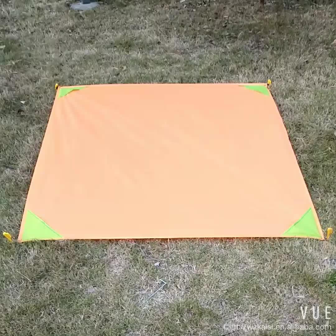 Picnic blanket Pocket Beach Blanket Small Blanket Outdoor Customized