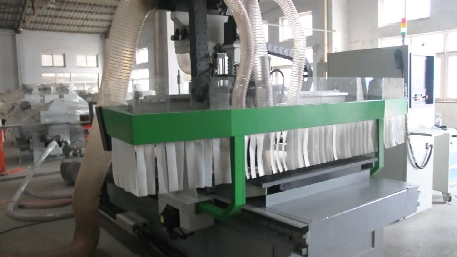 Mdf Cutting 1325 Cnc Router Machine For Furniture Making ...