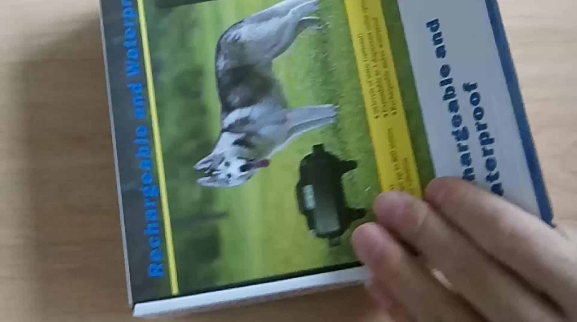Amazon Top 10 800 metros À Prova D' Água Recarregável Remoto Dog Training Collar Choque Eletrônico com Tela de LCD