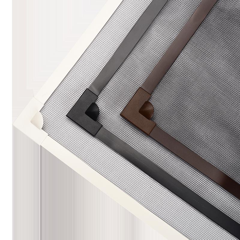 自粘型磁铁纱窗纱网自装防蚊沙窗网家用磁性简易窗户门帘隐形窗帘