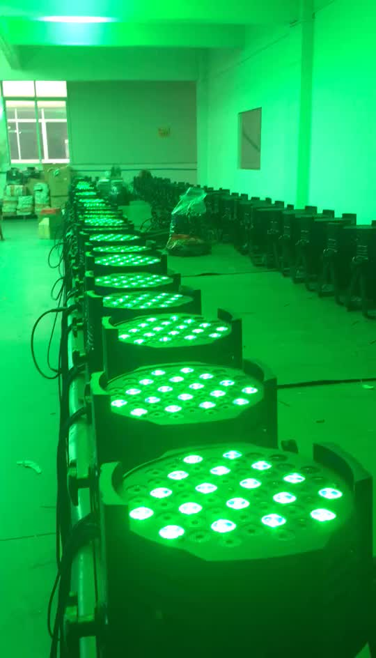 Wedding event lighting RGBW 54*3w indoor led par light