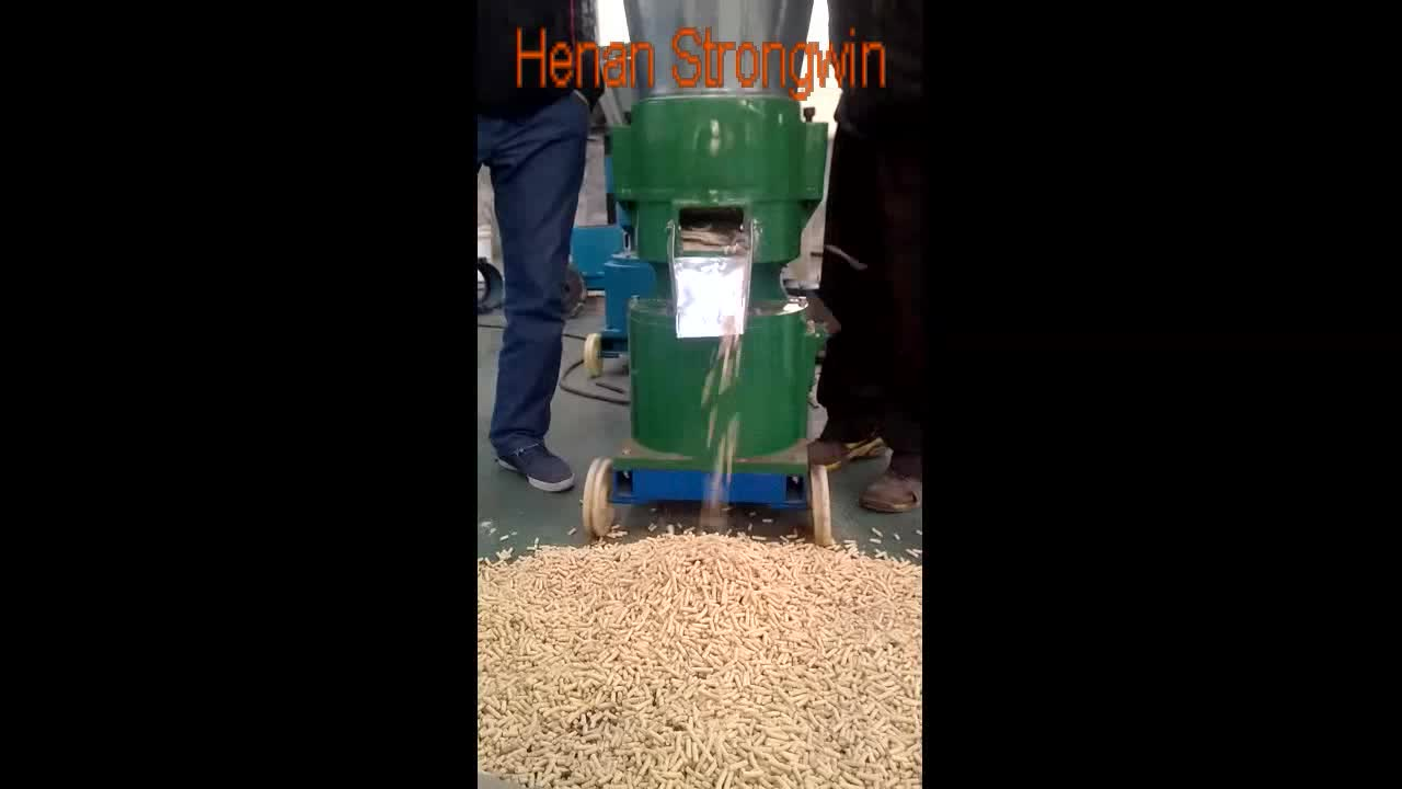 Henan Strongwin turn-key poultry chicken feed production line machinery for sale