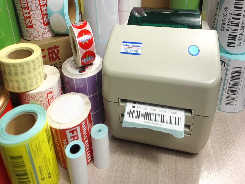 thermal label printer 4x6 High quality XP-450B Xprinter Direct Thermal max print width 108mm barcode printer